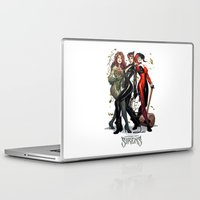 hentai Laptop & iPad Skins featuring Sirens Gotham city by rainbowarts