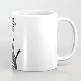 Cute monster, I don't bite. Coffee Mug