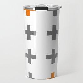 Swiss cross / plus sign Travel Mug