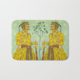 Mirrored Mughals Bath Mat