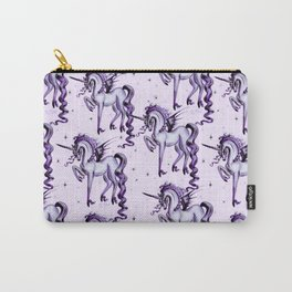 Unicorn with Bat Wings Carry-All Pouch