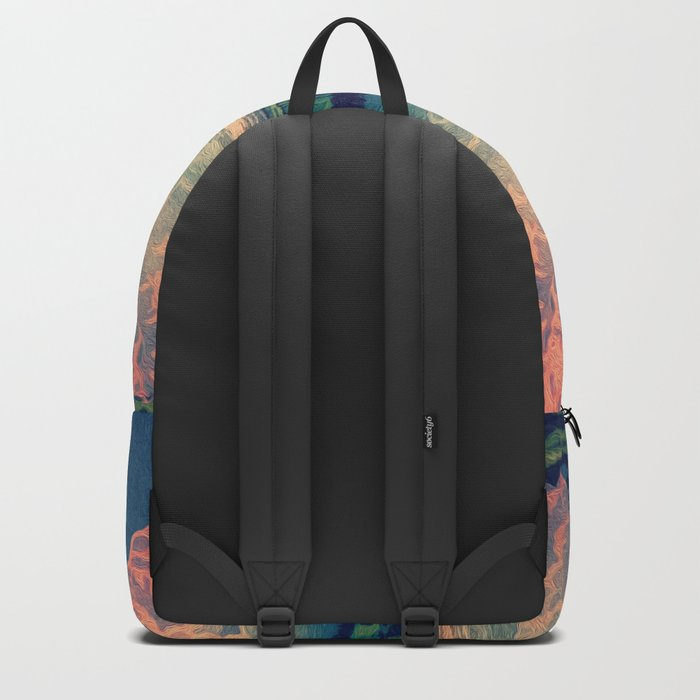Admiring the Clouds in Kono Backpack