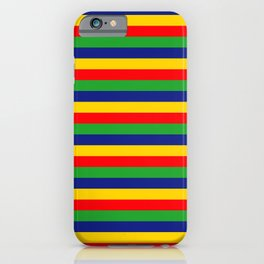 Lincolnshire flag stripes iPhone Case