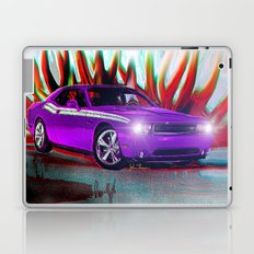 Plum Crazy Challenger Laptop & iPad Skin
