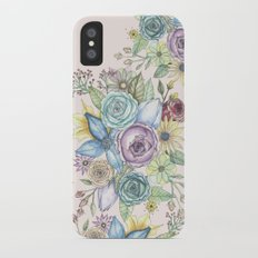 Flowers Slim Case iPhone X