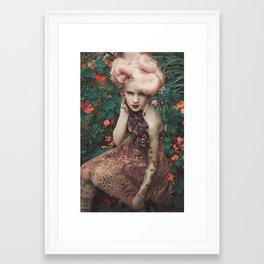 Poison Girl Framed Art Print