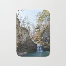 Alone in Secret Hollow with the Caves, Cascades, and Critters, No. 17 of 21 Bath Mat
