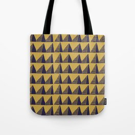 Triangle Tribal Pattern Tote Bag