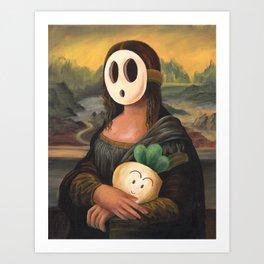 Mona Shyguy Art Print