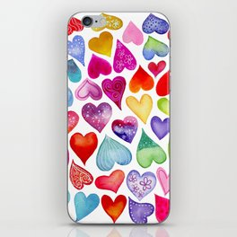 Field of Hearts iPhone Skin