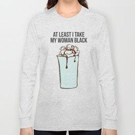 Black woman Long Sleeve T-shirt