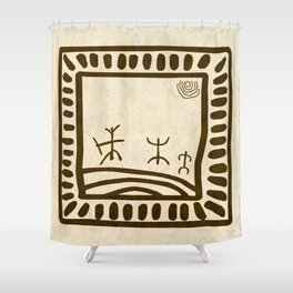 Ethnic 3 Canary Islands Shower Curtain