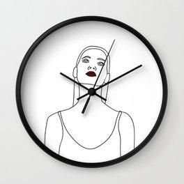 Wondering Wall Clock