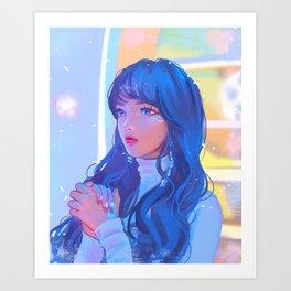 Cheng Xiao Art Print