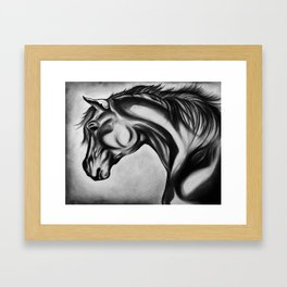 In Deep Thought Framed Art Print