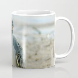 The Yellow-crowned Night Heron at Ding I Coffee Mug