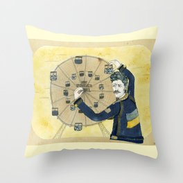 Immigrant Punk Eugene Hütz Throw Pillow