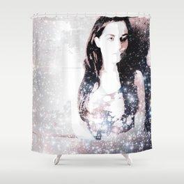 A Bright Star Elizabeth Taylor Shower Curtain