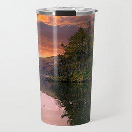 By the Lake Side Travel Mug