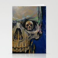 the vampire diaries Stationery Cards featuring Vampire by Michael Creese