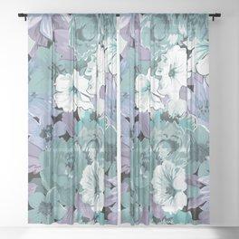 FLOWERS XI Sheer Curtain