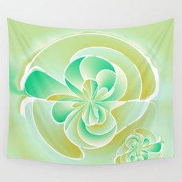 Irregular floral shapes Wall Tapestry