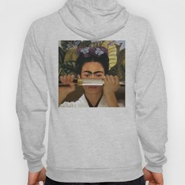 Kill Bill's O-Ren Ishii & Frida Kahlo's Self Portrait Hoody