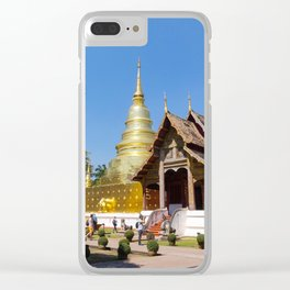 Chiang Mai Temples Clear iPhone Case