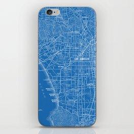 Los Angeles Street Map iPhone Skin