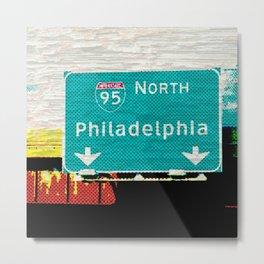 N PHILADELPHIA Metal Print
