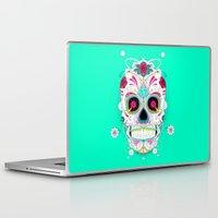 calavera Laptop & iPad Skins featuring Calavera by yoaz