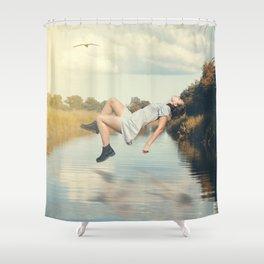 Levitation Shower Curtain