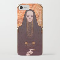 heymonster iPhone & iPod Cases featuring Reverend Mother by heymonster