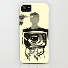 HYPODERMIC NEEDLE THEORY iPhone Case