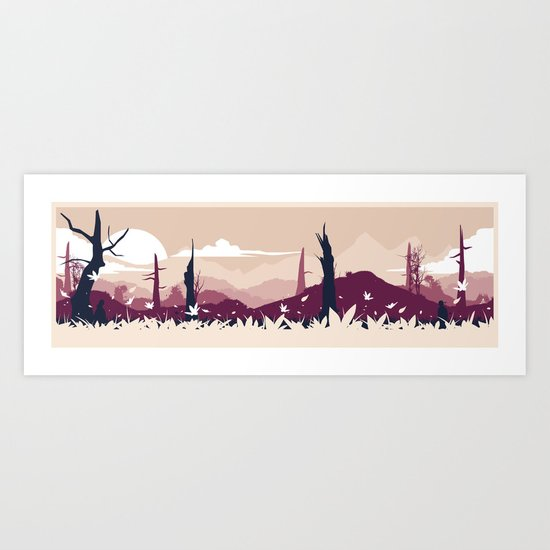 Metal Gear Solid 3 - The Title of Boss Art Print