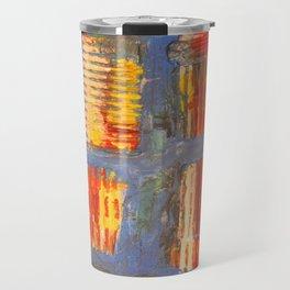 Colourful City Travel Mug