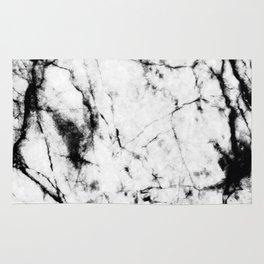 Marble Concrete Stone Texture Pattern Effect Dark Grain Rug
