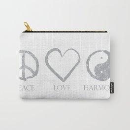 Peace  love  harmon Carry-All Pouch