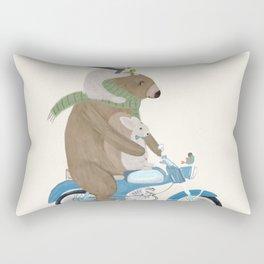 biker buddies Rectangular Pillow