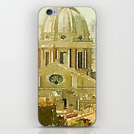 panoramic rome iPhone Skin