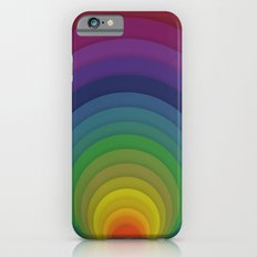 Rainbow circles Slim Case iPhone 6s