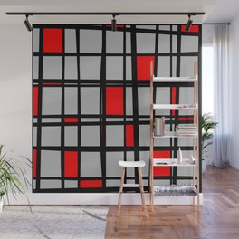 Gridlock - Abstract Wall Mural