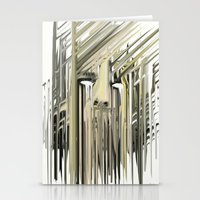 kurt rahn Stationery Cards featuring Kurt Melting by eyesdrippingink