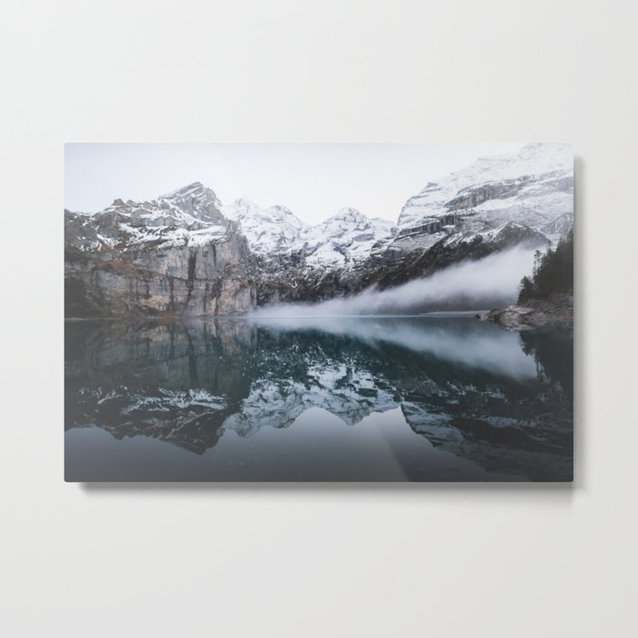 The Winter Tundra Metal Print