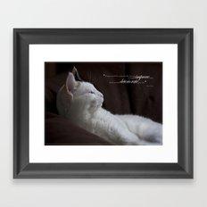 Improve Man Framed Art Print