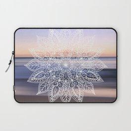 Leaf mandala - beachside Laptop Sleeve