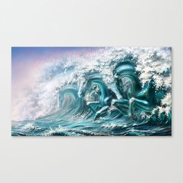 water horse Canvas Print