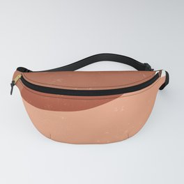 Terracotta 05 - Contemporary, Minimal Abstract Fanny Pack