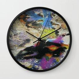 Street art, Napoli 5 Wall Clock