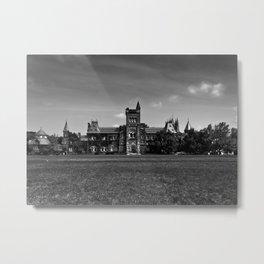 University College Main Building Toronto Canada Metal Print